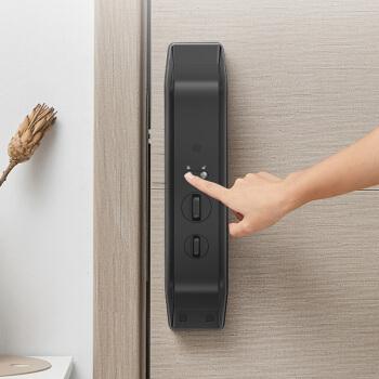 德施曼(DESSMANN)Q5 高端黑指纹锁智能家居全自动直觉式解锁隐藏式指纹头电子密码智能门锁